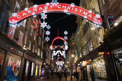 Carnaby street Royalty Free Stock Photography