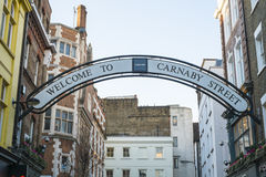 Carnaby street sign Stock Photos