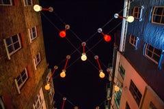 Carnaby ulica nocą Zdjęcia Stock