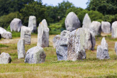 Carnac stones Royalty Free Stock Photo