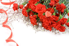Carnation bouquet Royalty Free Stock Images