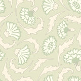Carnation's pattern in modern Stock Image