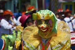 Carnaval安迪诺-阿里卡,智利 库存图片