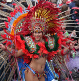 Carnaval游行 图库摄影