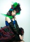 carnaval礼服设计年轻人 免版税库存图片