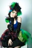carnaval礼服设计年轻人 库存图片