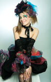 carnaval礼服设计年轻人 库存照片