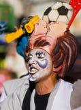 carnaval蒙得维的亚 免版税库存图片