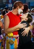 carnaval蒙得维的亚 免版税图库摄影