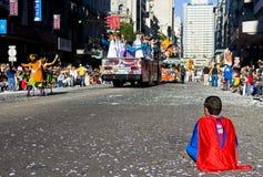 carnaval蒙得维的亚 图库摄影