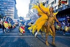 carnaval蒙得维的亚 库存照片