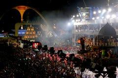 Carnaval à Rio Photos libres de droits