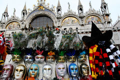 Carnaval à Venise, Italie Photo stock