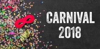 Carnaval 2018 Royalty-vrije Stock Afbeelding