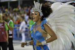Carnaval 2018 stock foto
