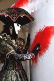 In Carnaval royalty-vrije stock afbeelding