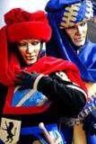 In Carnaval stock afbeelding