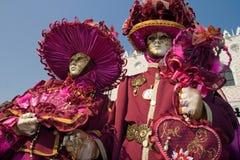 Carnaval 2009 de Veneza Foto de Stock