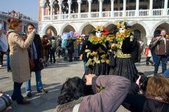 Carnaval 2009 de Venise Image stock
