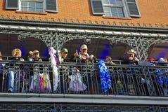 Carnaval 2010 de Nova Orleães Fotos de Stock