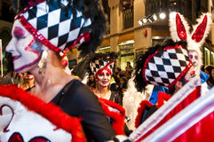 Carnaval 2010 de Sitges Photos libres de droits