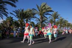 Carnaval 2011 de Morro Jable Imagem de Stock