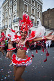 Carnaval 2011 de Notting Hill Photographie stock libre de droits