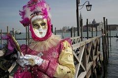 Carnaval 2011 de Venecia Imagen de archivo