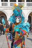 Carnaval 2011 de Venecia - máscara Foto de archivo