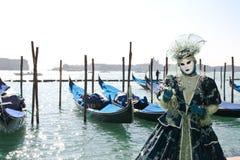 Carnaval 2011 de Venecia - máscara Fotografía de archivo libre de regalías