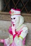 Carnaval 2011 de Venecia - máscara Imagen de archivo libre de regalías