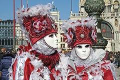 Carnaval 2011 de Venecia - máscaras Imágenes de archivo libres de regalías