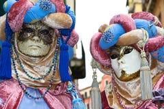 Carnaval 2011 de Venecia - máscaras Fotos de archivo