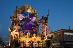 Carnaval 2011 de Viareggio Imágenes de archivo libres de regalías