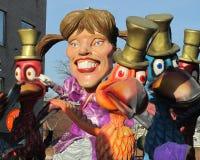 Carnaval 2012 de Aalst Imágenes de archivo libres de regalías