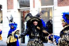 Carnaval 2012 em Maastricht fotografia de stock royalty free