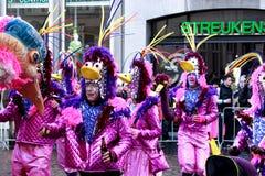 Carnaval 2012 em Maastricht fotografia de stock