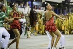 Carnaval 2017 - Academicos font Cubango Images libres de droits