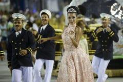 Carnaval 2017 - Academicos font Cubango Photos stock