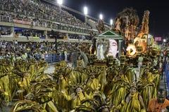 Carnaval 2017 - Academicos font Cubango Photographie stock