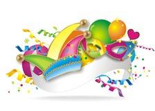 Carnaval-Achtergrond vector illustratie