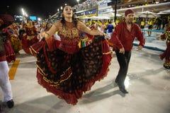 Carnaval Alegria 2019 a Dinamarca Zona Sul fotos de stock