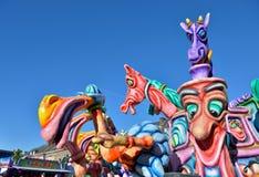 Carnaval annuel dans Nivelles Photo libre de droits