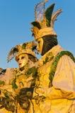 Carnaval anual en la ciudad de Venecia, Italia Fotos de archivo libres de regalías