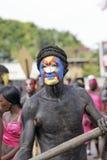 Carnaval anual Francés el 7 de febrero de 2010 de la Guayana Fotos de archivo libres de regalías