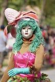 Carnaval anual Francés el 7 de febrero de 2010 de la Guayana Imagen de archivo libre de regalías