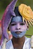 Carnaval anual Francés el 7 de febrero de 2010 de la Guayana Foto de archivo