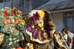 Carnaval anual francês fevereiro 7 de Guiana, 2010 Foto de Stock Royalty Free