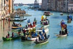 Carnaval anual na cidade de Veneza, Italy Imagem de Stock Royalty Free