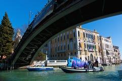 Carnaval anual realizado en Venecia, Italia Imagen de archivo libre de regalías
